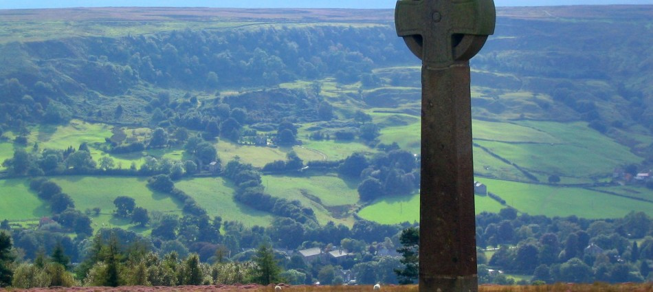 Rosedale Abbey from Chimney Bank